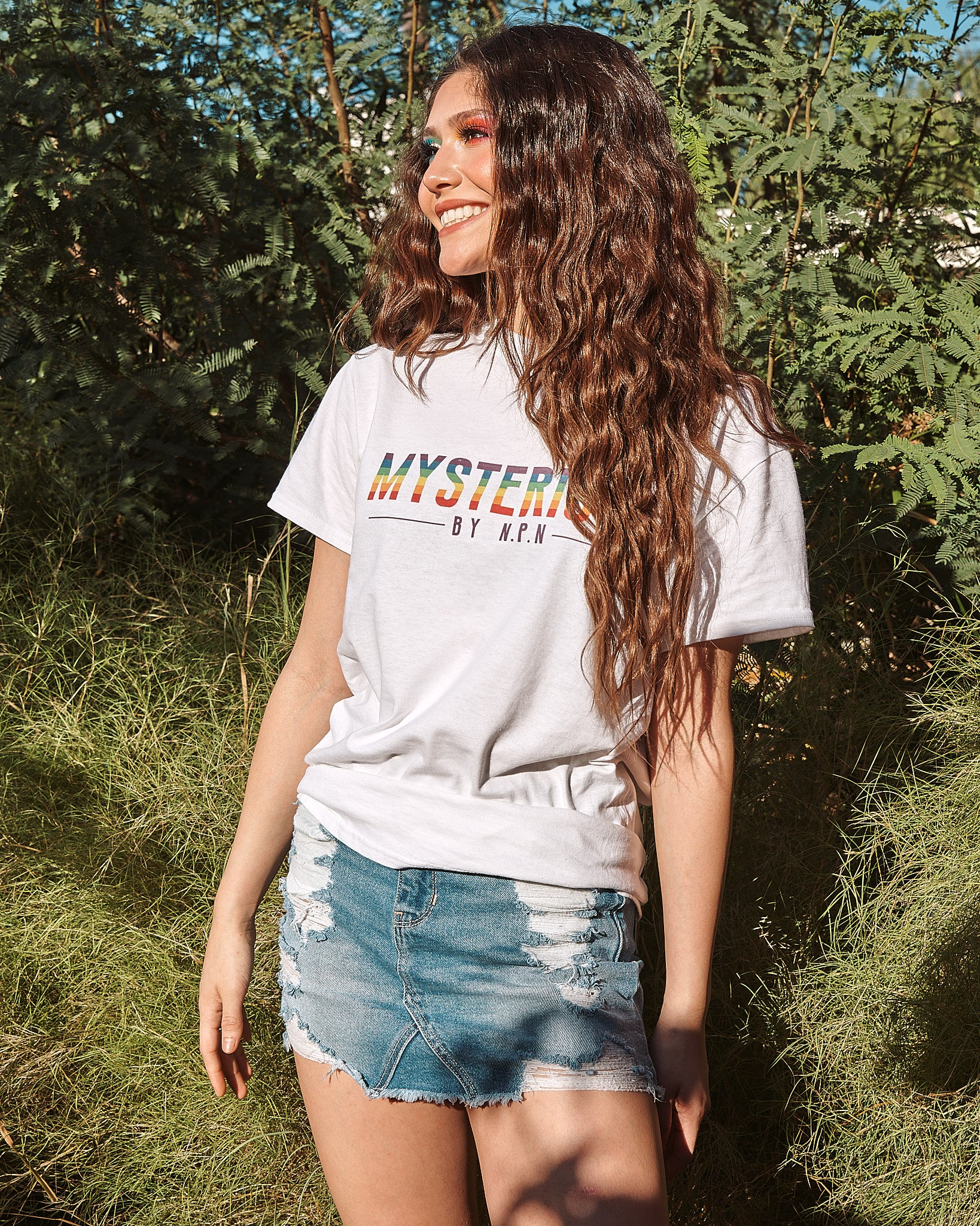 RAINBOW Mysterious T-Shirt UNISEX