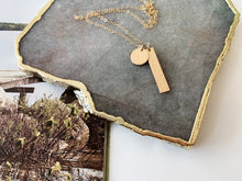 Load image into Gallery viewer, Jenna Necklace (Gold-Filled, Hammered)