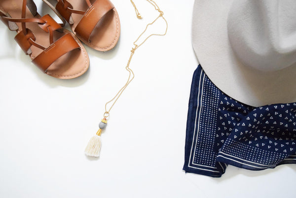 Emery Tassel Necklace