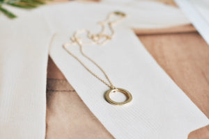 14K Gold Addison Necklace