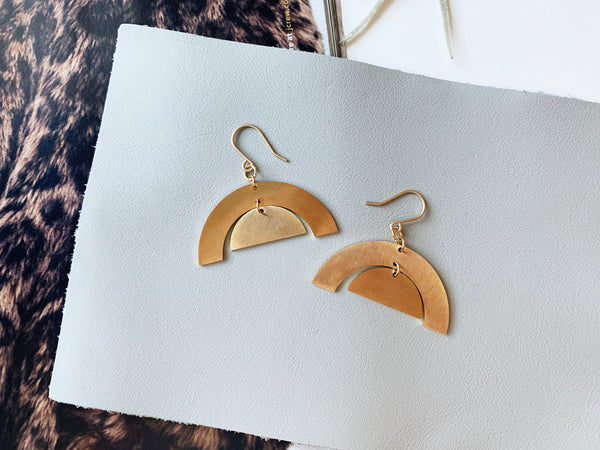 Julia Earrings (Arches)