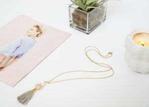 Conni Tassel Necklace