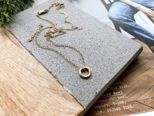 Load image into Gallery viewer, 14K Gold Mini Addison Necklace