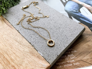 14K Gold Mini Addison Necklace