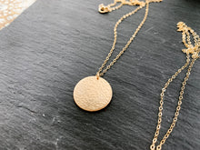 Load image into Gallery viewer, Moon Coin Necklace Set (Gold-Filled)