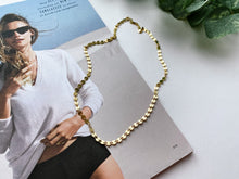 "Load image into Gallery viewer, Reese Confetti Chain Necklace (Gold-Filled, 16"")"