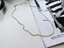 Load image into Gallery viewer, James Link Chain Necklace (Gold-Filled)