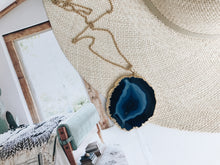 Load image into Gallery viewer, Blakely Necklace (Inky Blue)