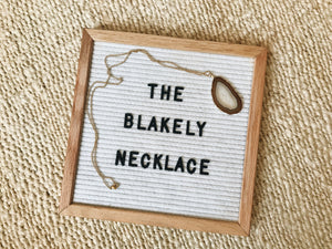 Blakely Necklace (Beach)