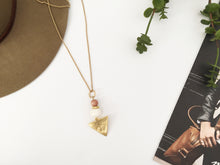 Load image into Gallery viewer, Dylan Necklace (Rose Wood)