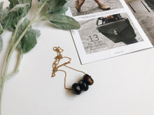 Load image into Gallery viewer, Camille Necklace (Espresso Dot)