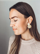 Load image into Gallery viewer, Clare Earrings (3-in-1, Recycled Brass)