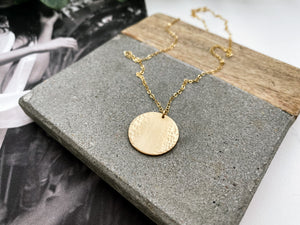 Kate Coin Necklace