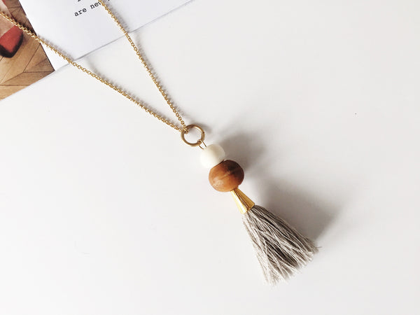 Janae Tassel Necklace