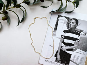James Link Chain Necklace (Gold-Filled)