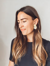 Load image into Gallery viewer, Paloma Earrings (Recycled Brass + Horn)
