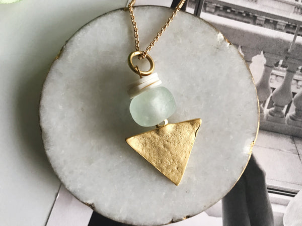 Dylan Necklace (Sea Glass)