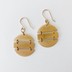 Julia Earrings (Oval)