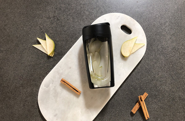 pear and cinnamon water infusion