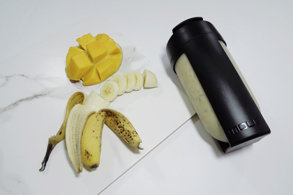 Healthy Pina Colada Protein Smoothie