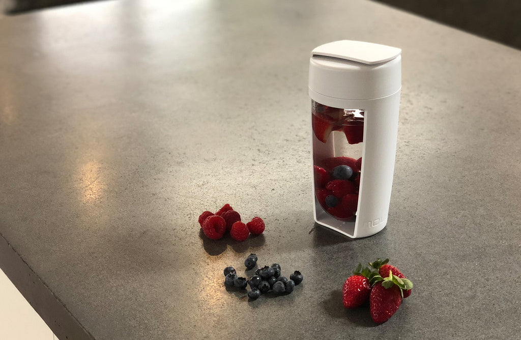 high antioxidant berry water infusion recipe