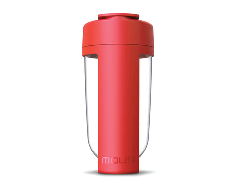 mous fitness bottle and shaker bottle red colour
