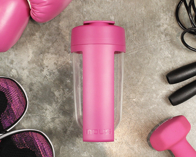 mous shaker bottle and fitness bottle is bpa free and bacteria resistant