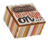 "Keepsake Box - ""Happiness Depends on Me"""