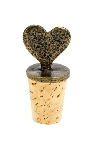 South African Heart Wine Bottle Stopper