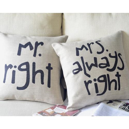 Happy Wife, Happy Life Pillows