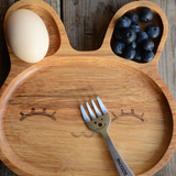 Rabbit Wood Plate
