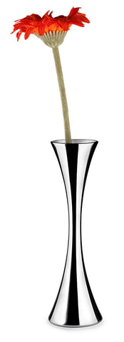 Fully Blossomed Stainless Steel Vase