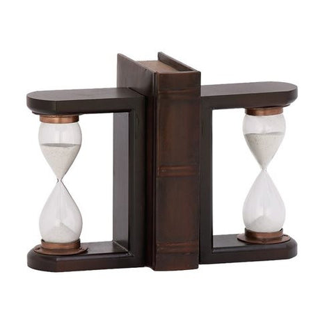 Hourglass Bookends
