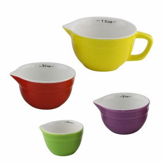 Multicolored Measuring Cups