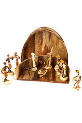 Handmade Banana Fiber Nativity Set