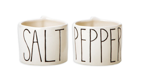Salt and Pepper Cellars, Set of 2
