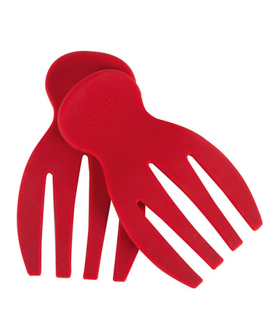 Silicone Salad Hands - Red
