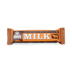 San Churro Couverture Milk Chocolate Mini Bar