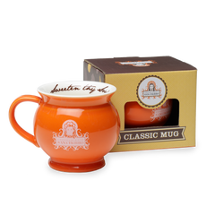 San Churro Hot Chocolate Mug Orange
