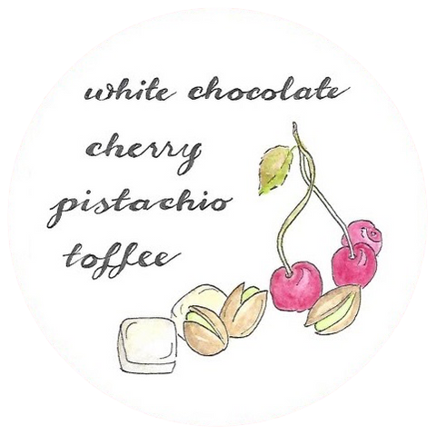 Cherry Pistachio Toffee