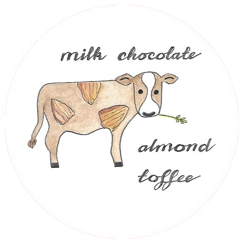 Milk Chocolate Almond Toffee