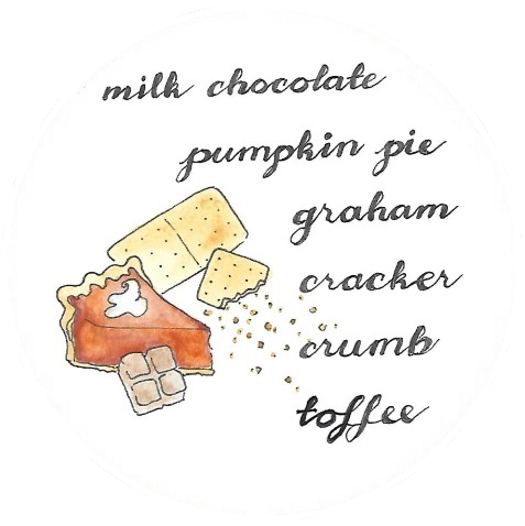 Pumpkin Pie Toffee w/ Honey Graham Cracker