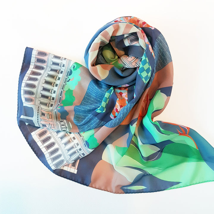 Museum Label x Binary Style Scarves Collection