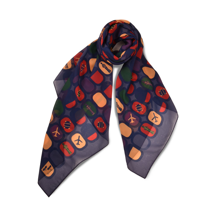 Redeem your KrisFlyer miles for Binary Style scarves!