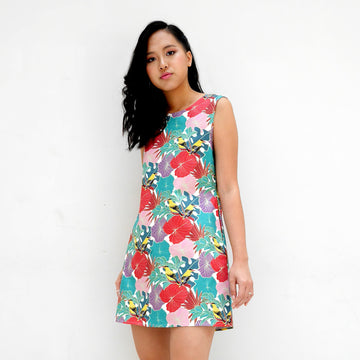 Oriole Cotton Mini Dress