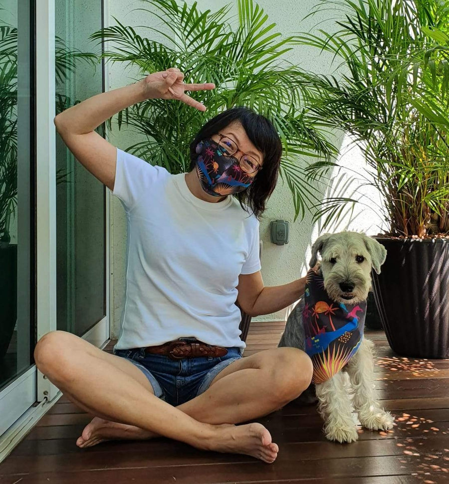 Daniel Boey's #SingaporeRescues Mask and Dog Bandana bundle