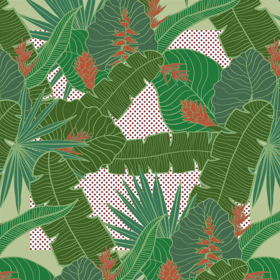 Tropical Party Cushion Cover   (2 colours available)
