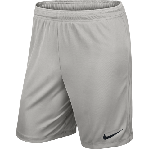 Aylestone Park F.C. - Nike Knit ,Training short, Pewter Grey. Youth.