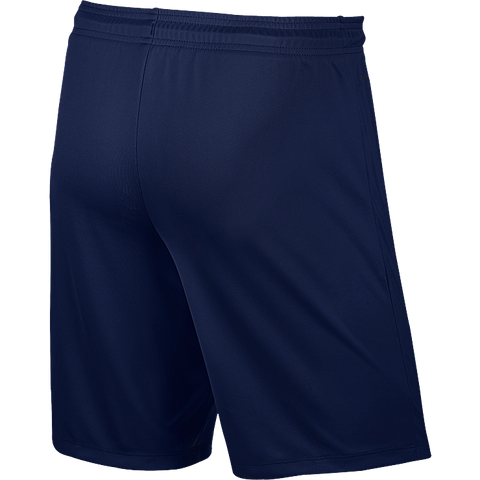 Triple Skillz - Nike Park II Knit Short, Navy- Adult (725887/410)