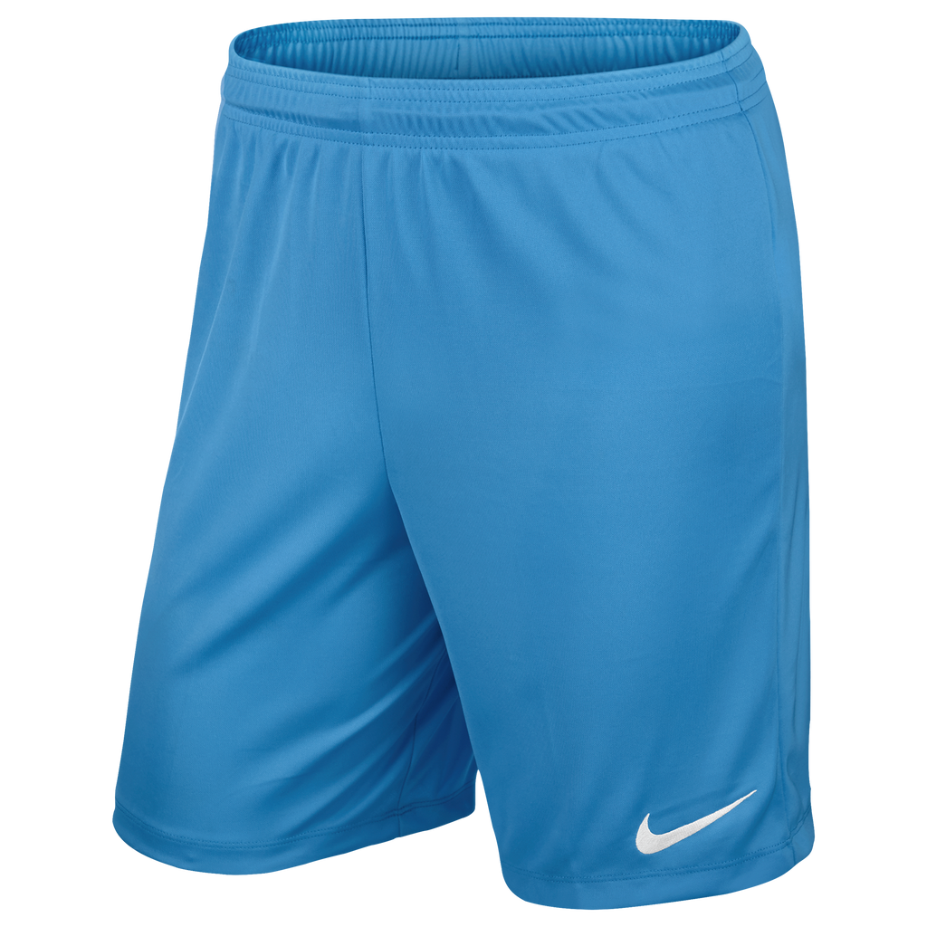 Leicester Futsal - Nike Park III shorts, Adults, University Blue. - Fanatics Supplies